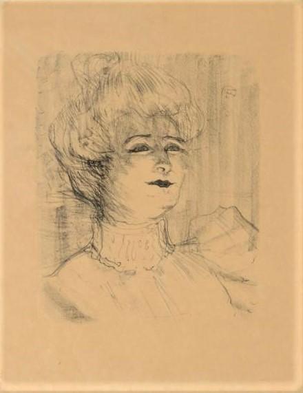 Marie-Louise Marsy par Henri de Toulouse-Lautrec