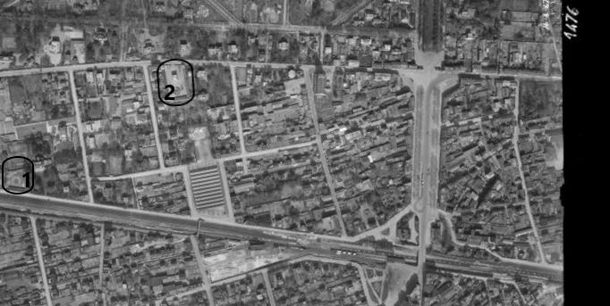 Photo IGN 1947, légende Frédéric Henry