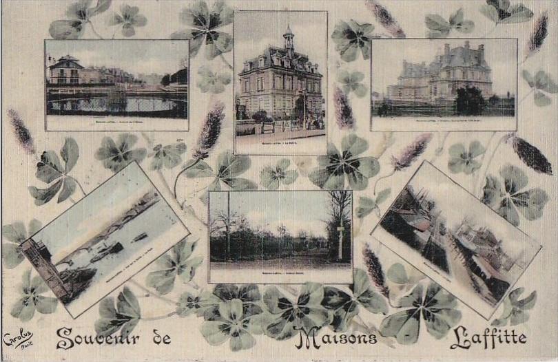 Carte postale souvenir de Maisons-Laffitte