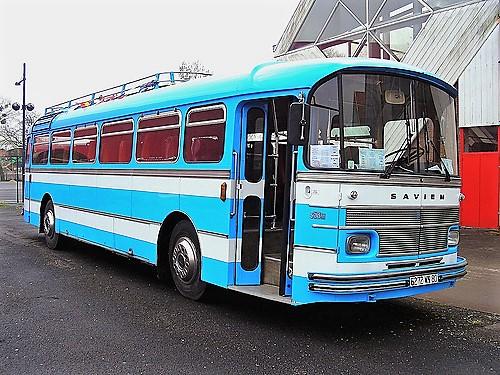 Autobus Saviem de la fibn des années 1960
