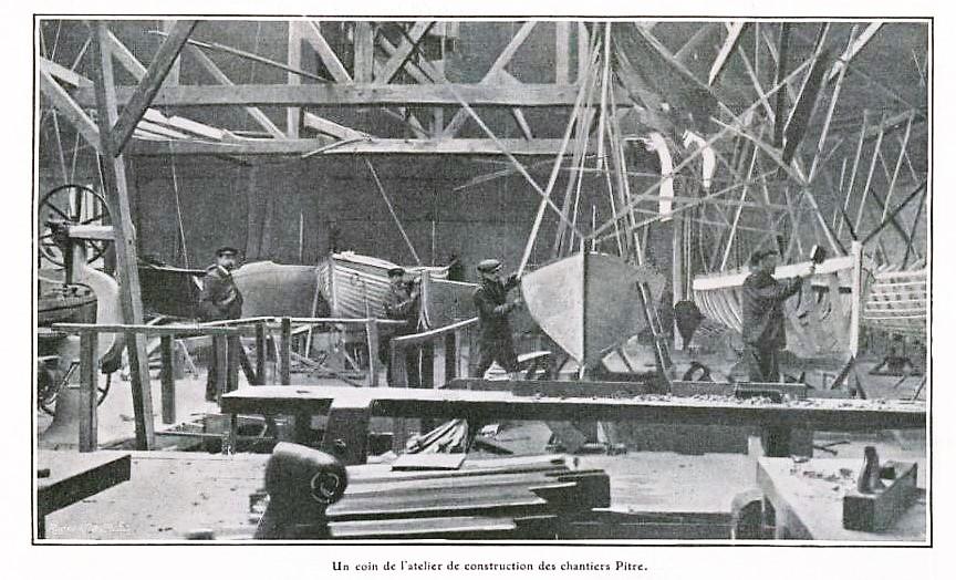 chantier naval Pitre à Maisons-Laffitte