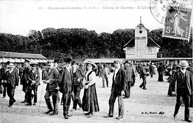 Maisons-Laffitte, le champ de courses