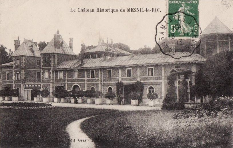 Le Mesnil-le-Roi Chateau de William Hope