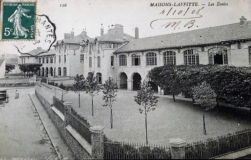 Ecole rue du Prieuré à Maisons-Laffitte