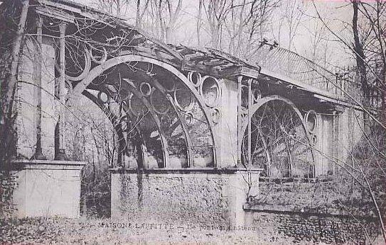 Pont du chateau de Maisons-Laffitte