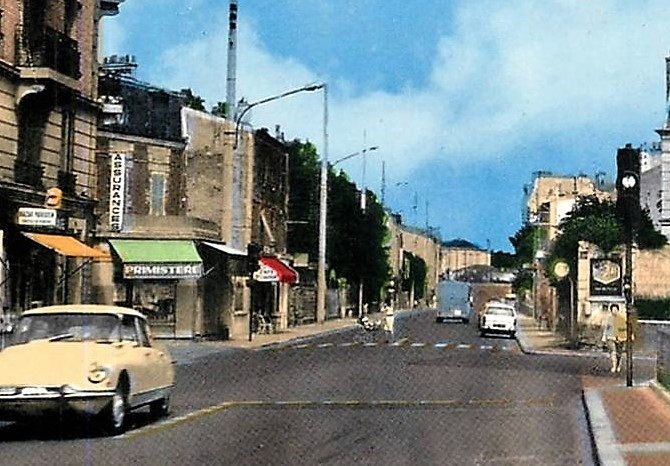 Avenue de Poissy à Maisons-Laffitte