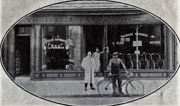 maisons-laffitte, ancien commerce rue de Paris