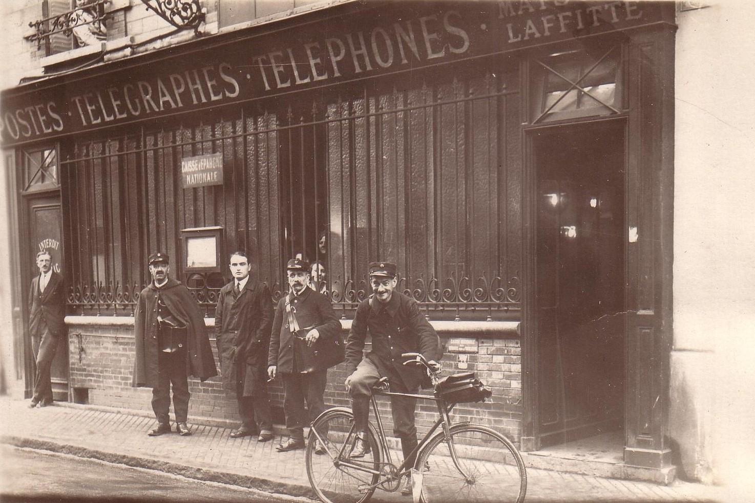 Maisons-Laffitte, Rue des Plantes au début du XXème siècle