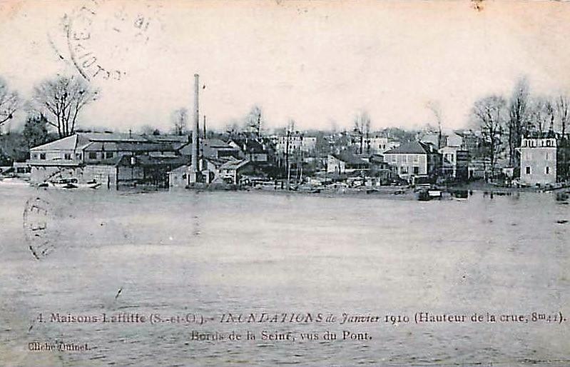 Crue de 1910 à Maisons-Laffitte