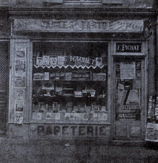 maisons-laffitte, ancien commerce avenue de longueil