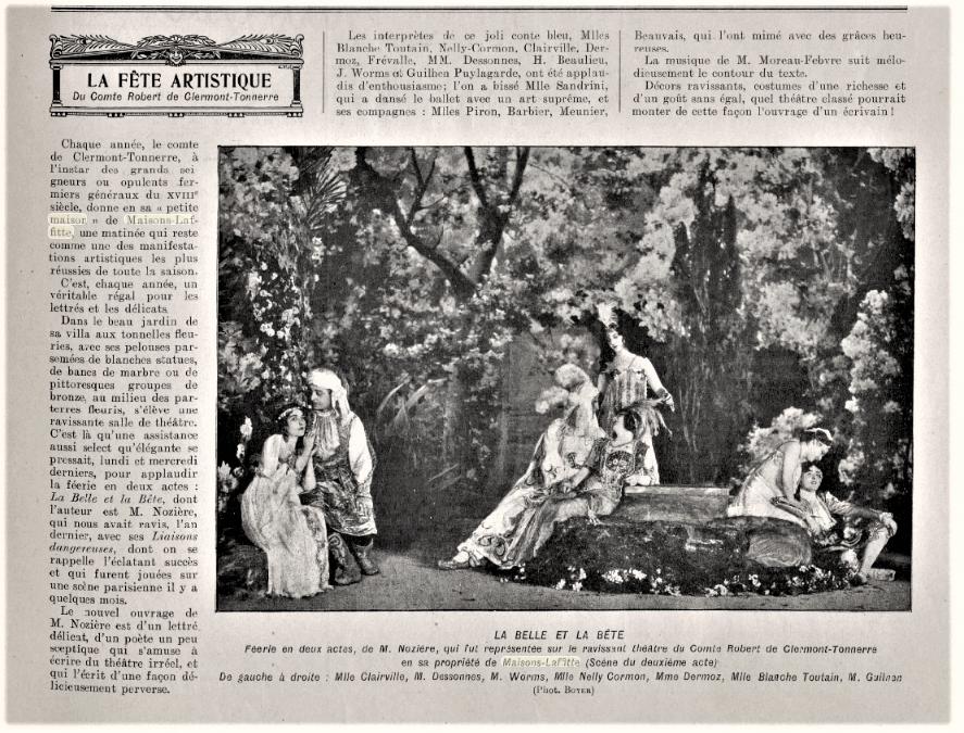 """Image """"Le Monde Illustré"""" 4 juillet 1908"""