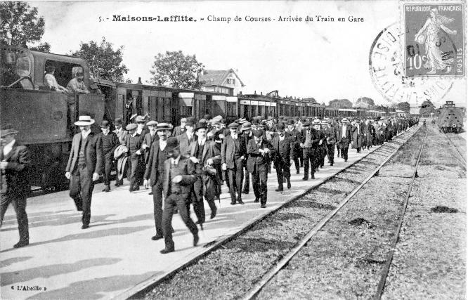 Gare du champs de course à Maisons-Laffitte