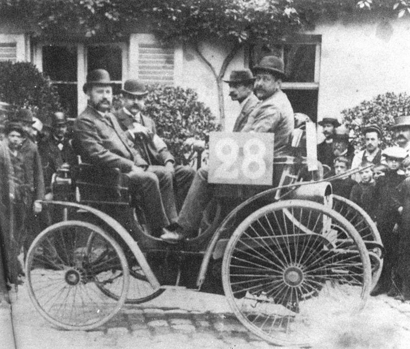 Peugeot de la première course automobile du monde Paris-Rouen de 1894
