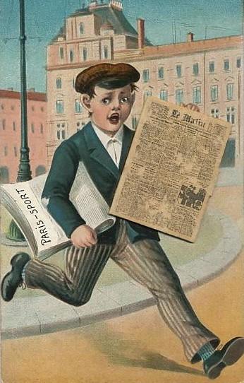 marchand de journaux