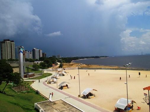 Strand in Manaus direkt am Amazonas