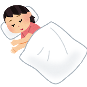 寝る向き 〜寝ている時の姿勢〜