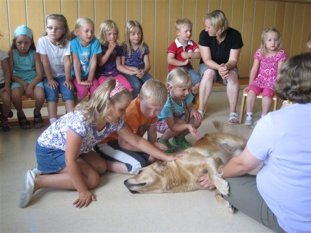 Meine Mädels im Kindergarten