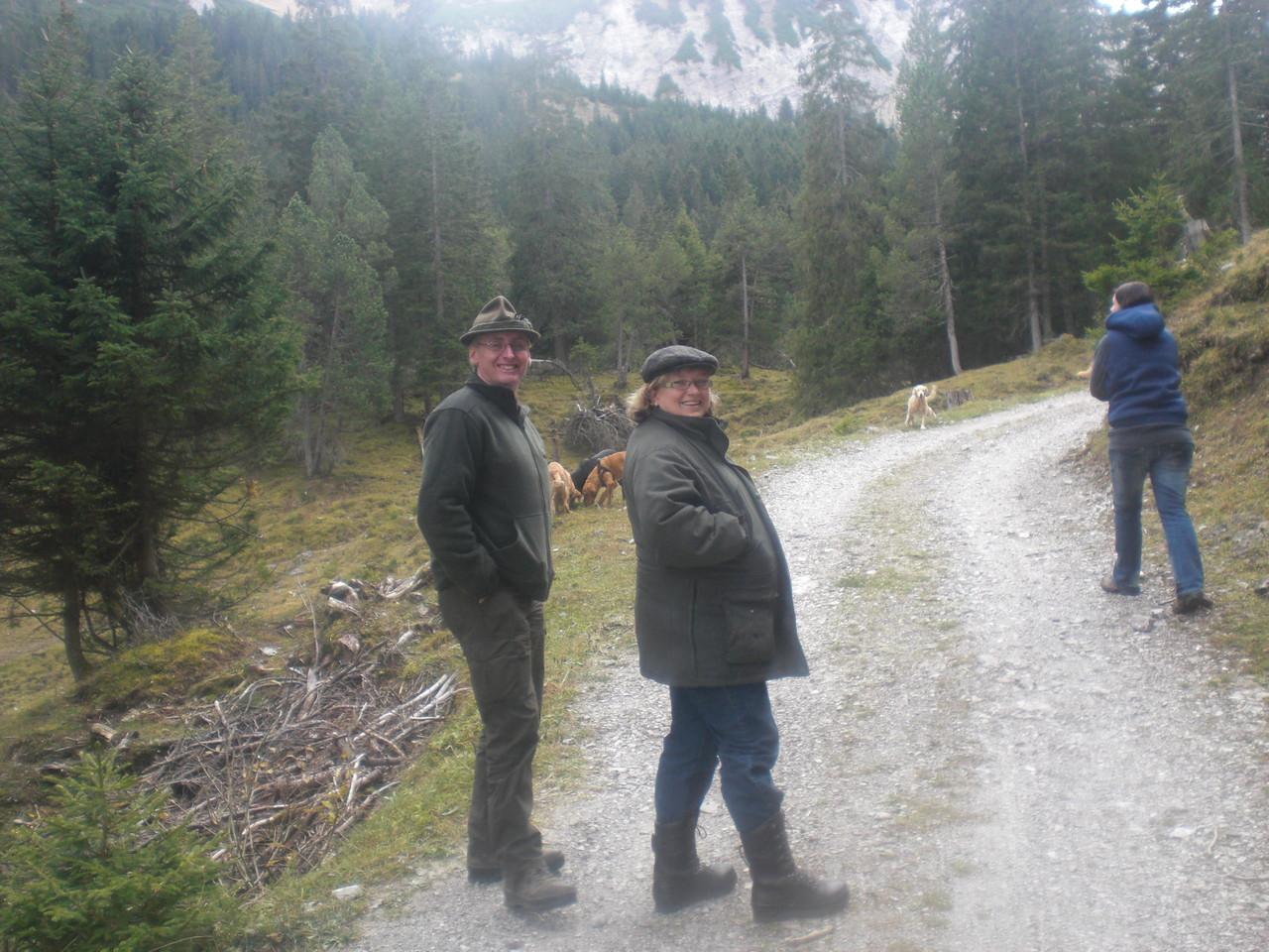 Auf der Alpe Gamp