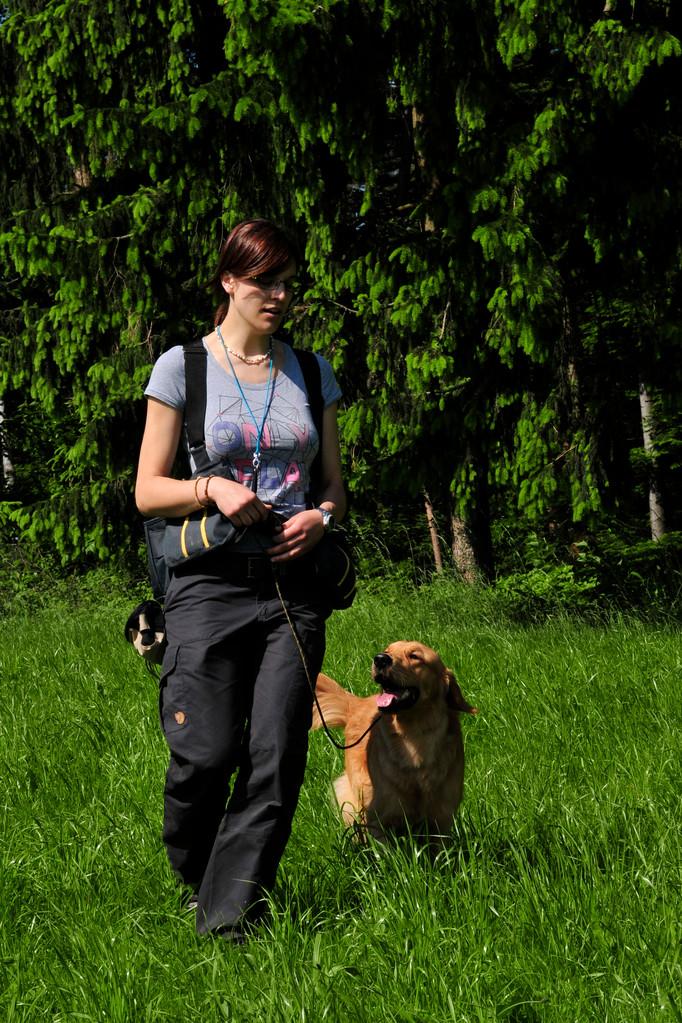 Bianca und Lino bei der Fußarbeit