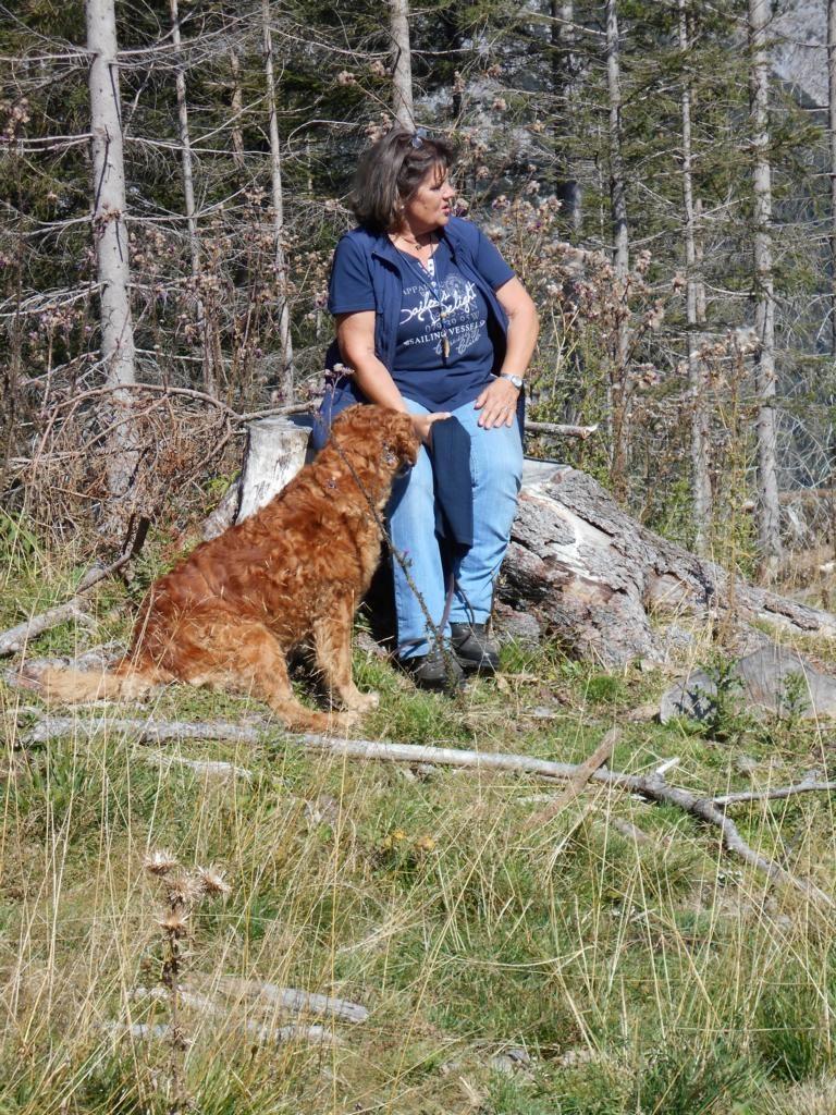 Brigitte mit Puma