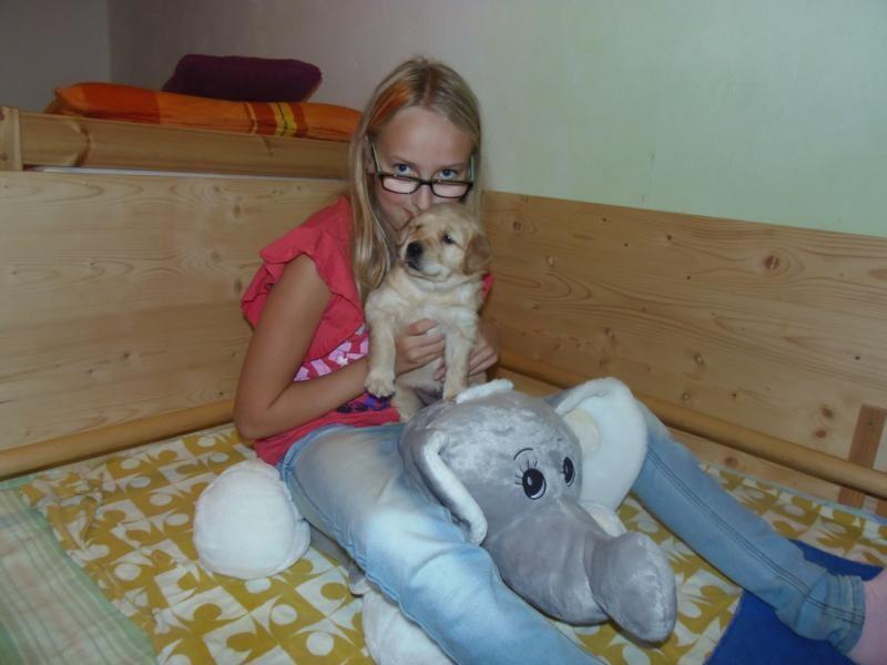 Verena mit Miss lila