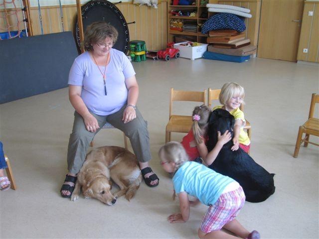 Kindergartenbesuch welch einen freude