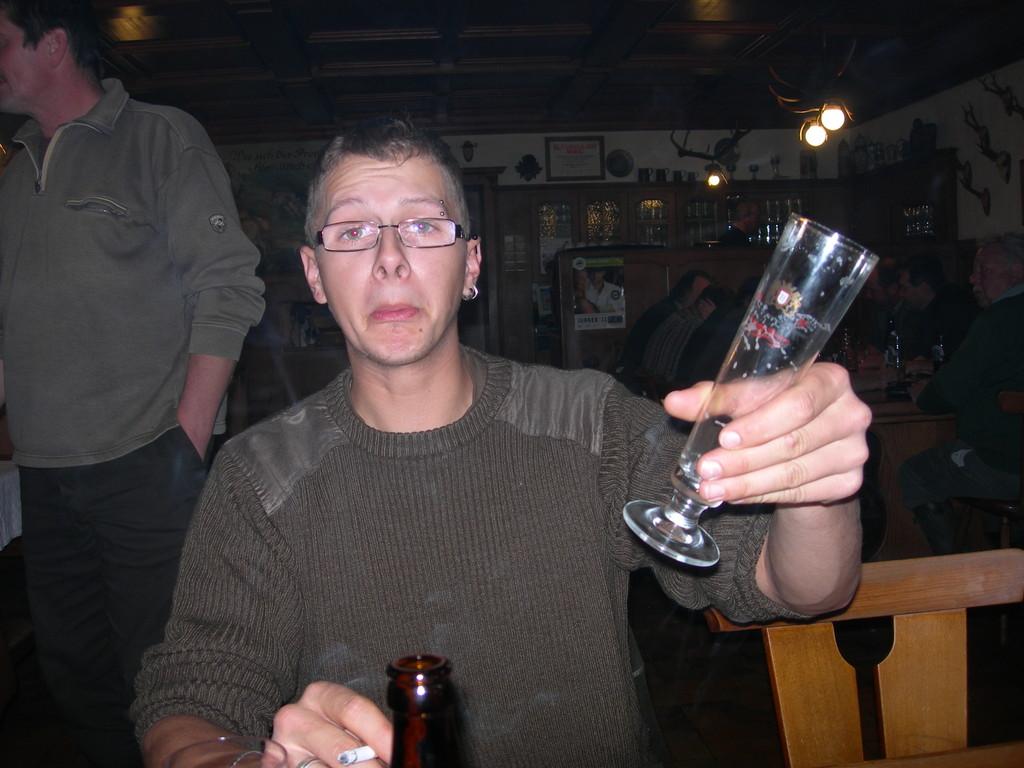 Georg zu etwas Späterer Stunde
