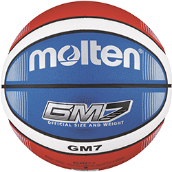 Molten BGMX7-C Blau Trainingsball Basketball Training