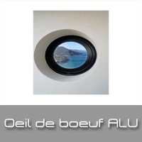 fenêtre ronde alu à clermont-ferrand