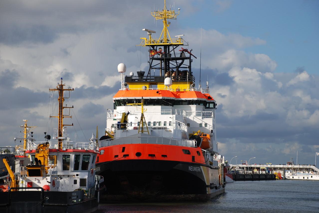 """Gewässerschutzschiff """"Neuwerk"""""""