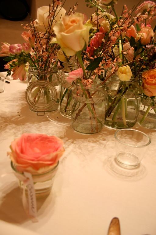 Tischdekoration Hochzeit     Schloss Liebegg Gränichen
