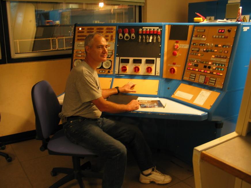 Sala de control del William Herschel