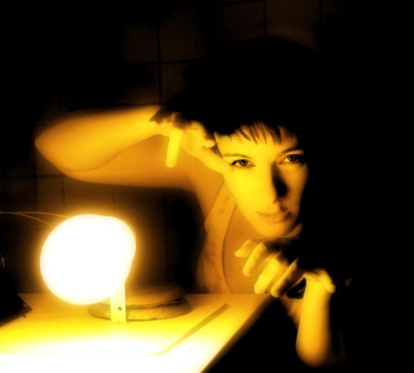 Experimentos con luz de sodio