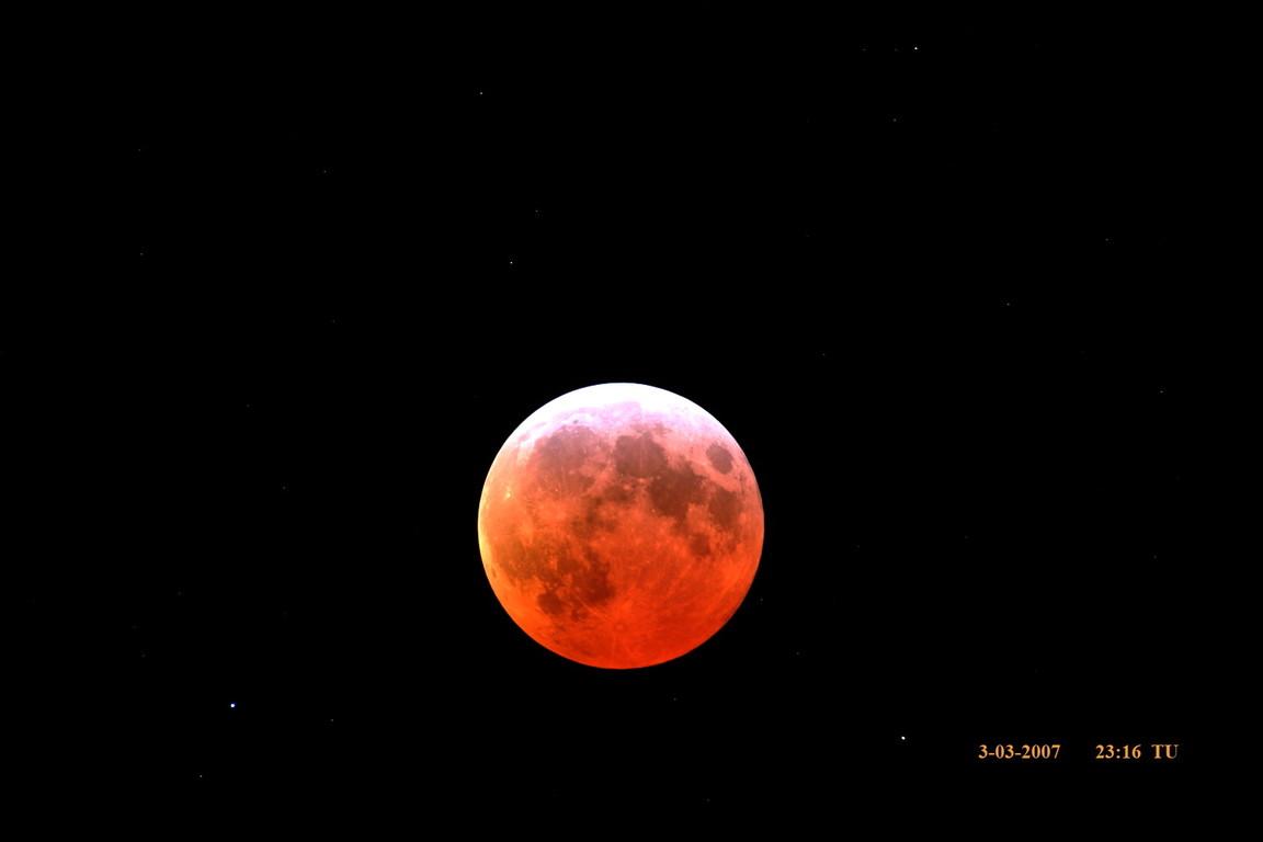 Eclipse total de Luna marzo 2007
