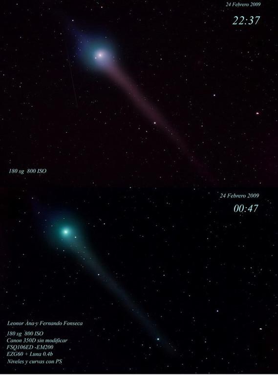 Cometa Lulin, Cuerva, Toledo