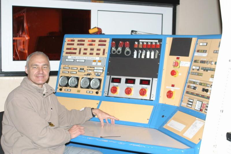 Sala control William Herschel