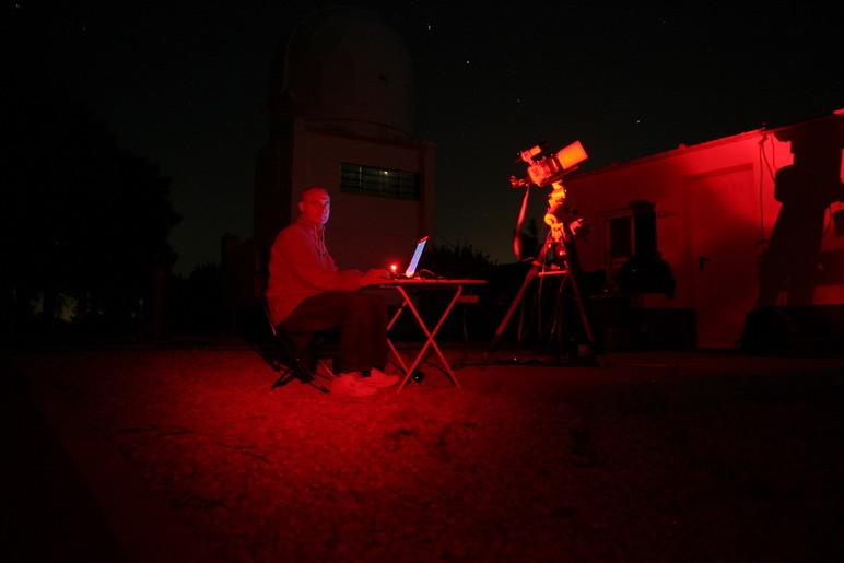 Noche de astrofotografía