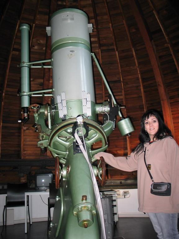 Agrupación astronómica de Munich, cúpula museo.