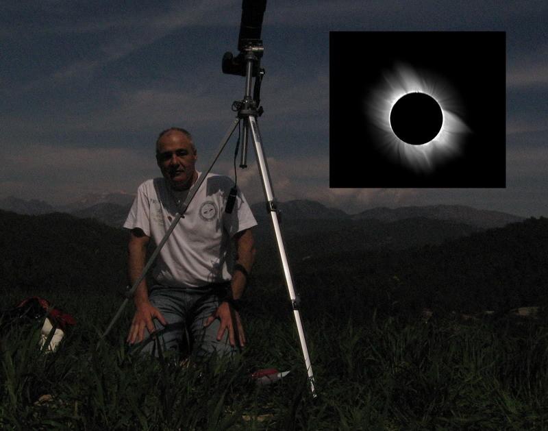 Bajo la sombra de la Luna, eclipse total del Sol, Turquia