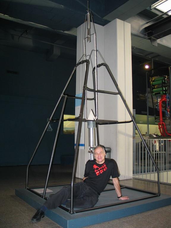 Cohete de Goddard, museo de Munich