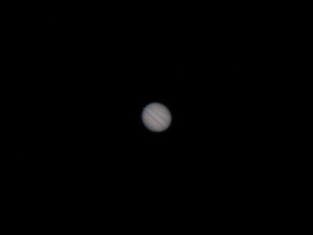 Júpiter en afocal, camara compacta G3 y FSQ106ED