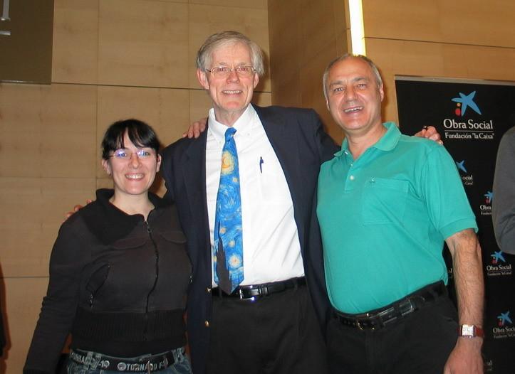 Los Astronómadas con Fred Spenak en Cosmocaixa, Alcobendas