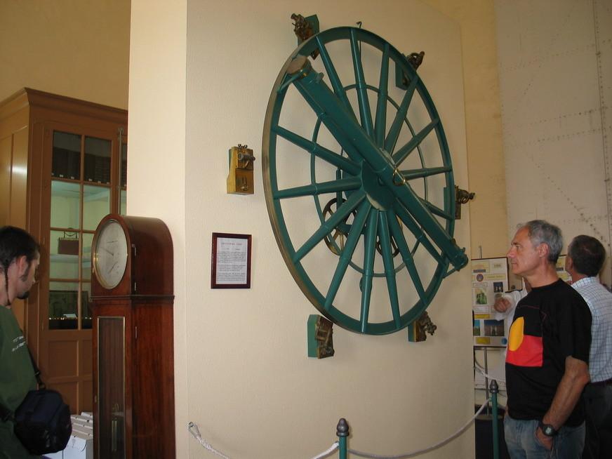 Visita al ROA, San Fernando, Cadiz