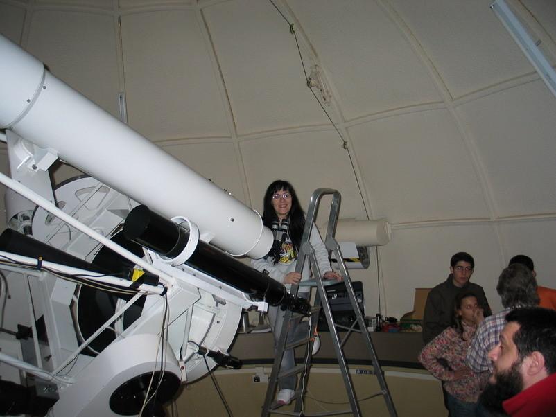 Medición eclipse total de luna de 3 marzo 2007