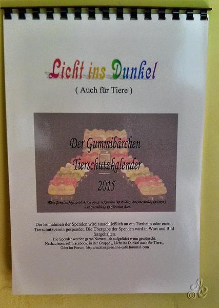 Deckblatt Wandkalender