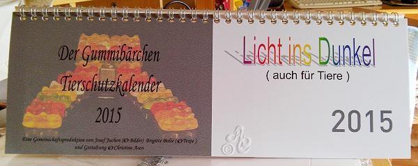 Deckblattt Tischkalender