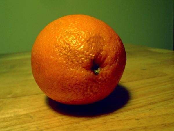 Orange verschönern