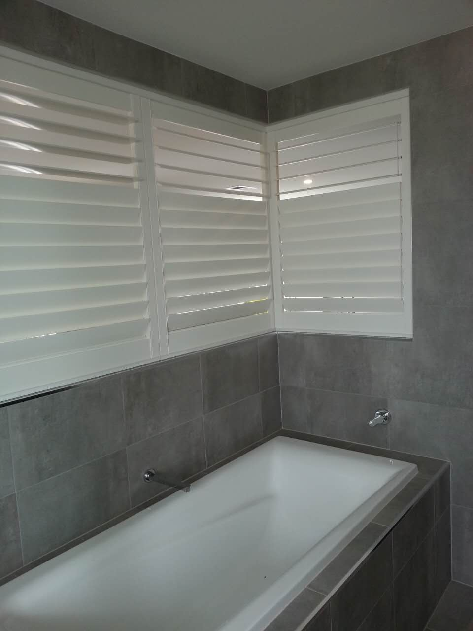 Vinyl Shutters used as Partition wall