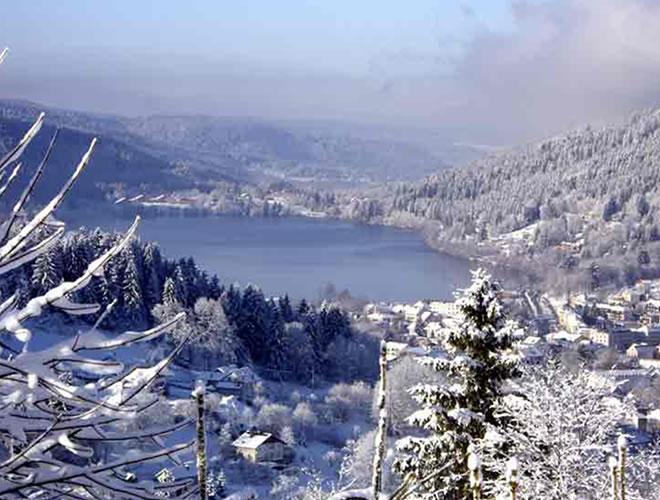 Gérardmer hiver