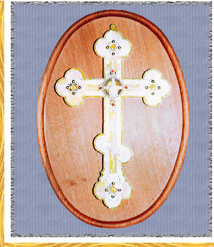 Wall Cross on the panel (1996)